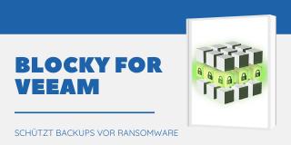 Ransomware-Schutz: Blocky for Veeam