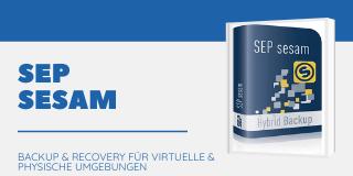 Backup-Software: SEP sesam